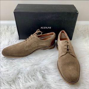 ALFANI Kevin Light Tan Oxford Shoes Size 11 NIB